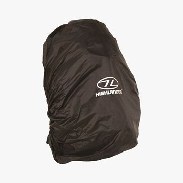 Picture of Medium Rucksack Cover 40-50 Litres Black