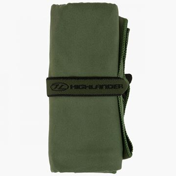 Picture of Microfibre Towel Large Olive Green