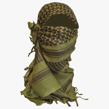 Picture of Shemagh Scarf Olive/Black