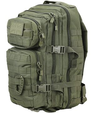 Picture of Small Assaut Pack 28 Litres Olive Green