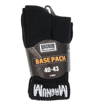 Picture of Base Pack Socks Black ( Packet of 3)