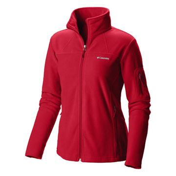 Picture of Fast Trek II Fleece Jacket Red