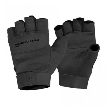 Picture of Duty Mechanic Gloves Half Black