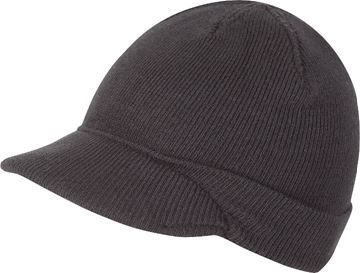 Picture of Acrylic Peak Hat Black