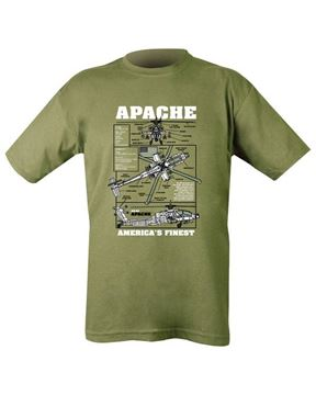 Picture of Apache T-Shirt Olive Green