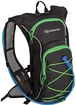 Picture of Kestrel 9 Litres Hydration Bag Black/Green