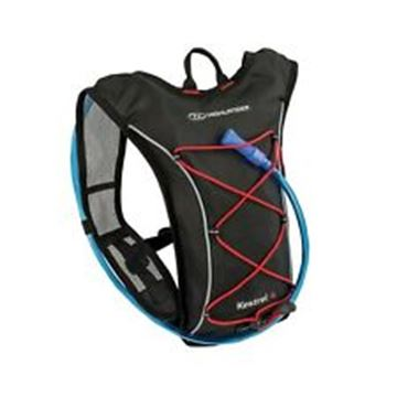 Picture of Kestrel 4 Litres Hydration Bag Black/Red