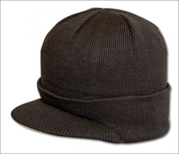 Picture of Acrylic Peak Hat Olive Green